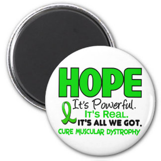 Muscular Dystrophy HOPE 1 2 Inch Round Magnet