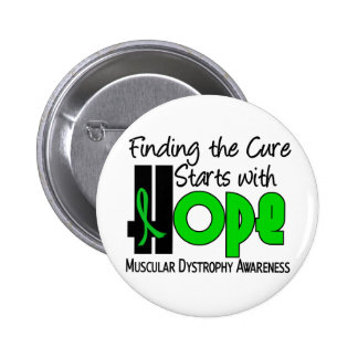 Muscular Dystrophy HOPE 4 2 Inch Round Button