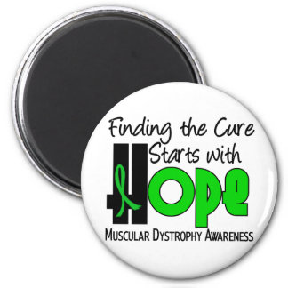Muscular Dystrophy HOPE 4 2 Inch Round Magnet