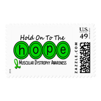 Muscular Dystrophy HOPE 6 Postage Stamps