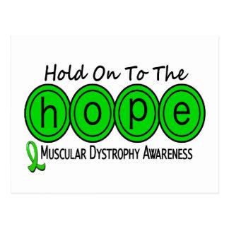 Muscular Dystrophy HOPE 6 Postcard