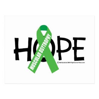 Muscular Dystrophy Hope Postcard