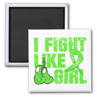 Muscular Dystrophy I Fight Like A Girl Grunge Magnets