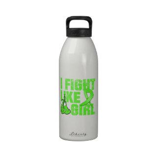Muscular Dystrophy I Fight Like A Girl Grunge Water Bottles