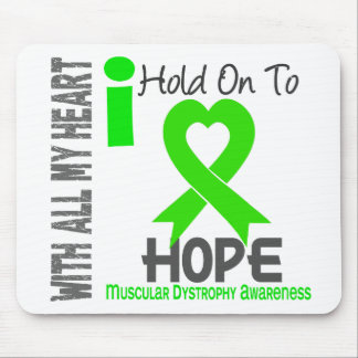 Muscular Dystrophy I Hold On To Hope Mouse Mat
