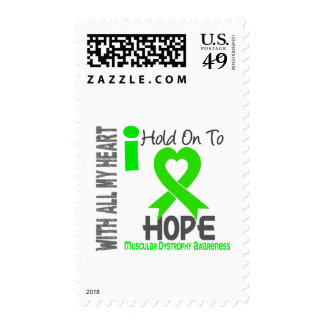Muscular Dystrophy I Hold On To Hope Stamps