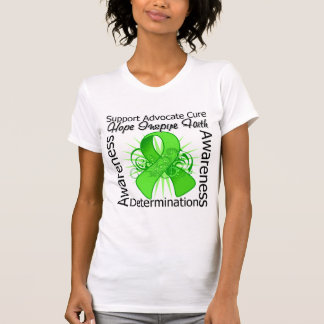 Muscular Dystrophy Inspirations Spiral Ribbon T-shirts