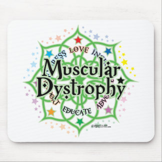 Muscular Dystrophy Lotus Mouse Pad