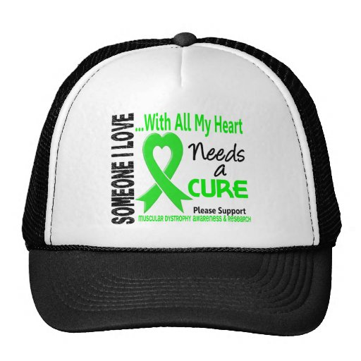 Muscular Dystrophy Needs A Cure 3 Mesh Hats