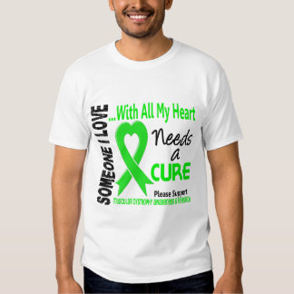 Muscular Dystrophy Needs A Cure 3 Tshirts