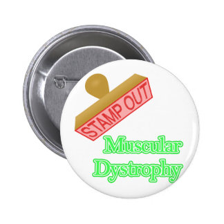 Muscular Dystrophy Pinback Button