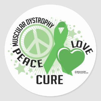 Muscular Dystrophy PLC Stickers