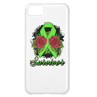 Muscular Dystrophy Survivor Rose Grunge Tattoo iPhone 5C Covers