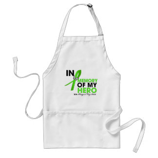 Muscular Dystrophy Tribute In Memory of My Hero Adult Apron