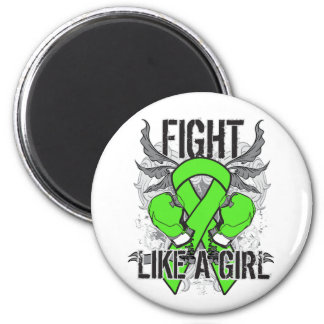 Muscular Dystrophy Ultra Fight Like A Girl Magnet