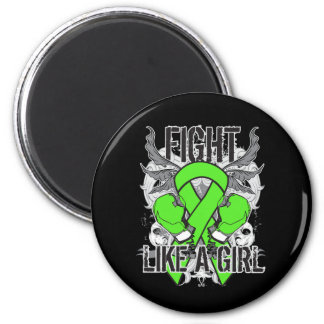 Muscular Dystrophy Ultra Fight Like A Girl Refrigerator Magnets