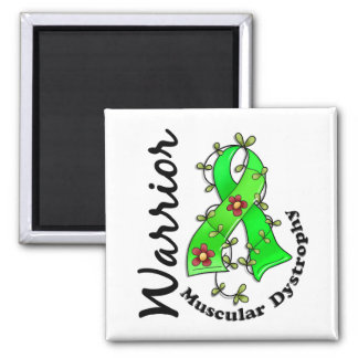 Muscular Dystrophy Warrior 15 2 Inch Square Magnet