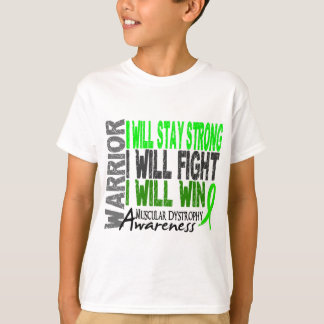 Muscular Dystrophy Warrior T-Shirt