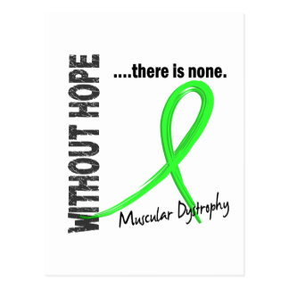 Muscular Dystrophy Without Hope 1 Postcard