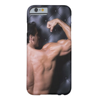 Muscular man flexing barely there iPhone 6 case