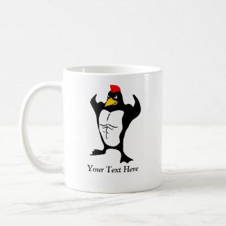 Muscular Penguin Coffee Mug