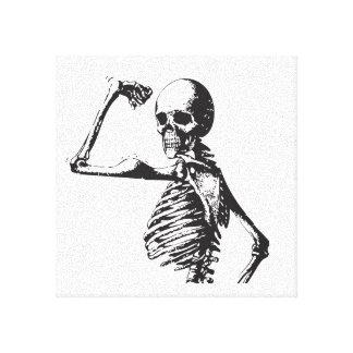 Muscular Skeleton Print