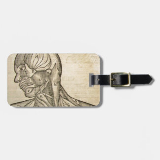 Musculature of the Head and Neck Bag Tag