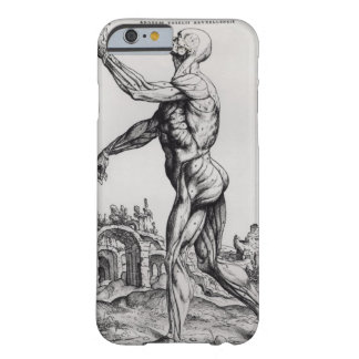 Musculature Structure of a Man (b/w neg & ) Barely There iPhone 6 Case