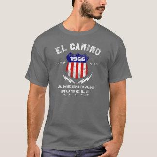 Músculo americano 1966 del EL Camino v3 Playera