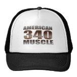 músculo americano 340 gorros