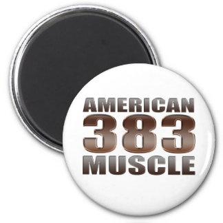 Músculo americano 383 iman de frigorífico