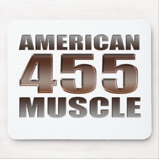 músculo americano 455 Olds Alfombrillas De Ratones