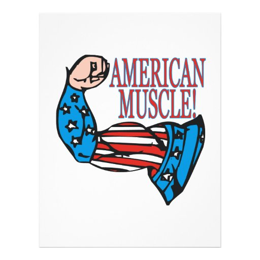 Músculo americano flyer a todo color