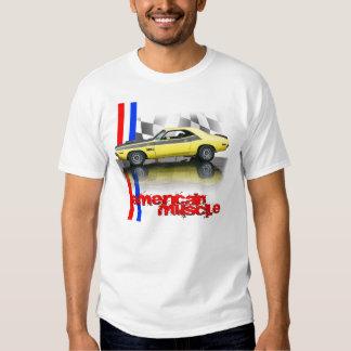 Músculo del americano del desafiador T/A de Dodge Polera