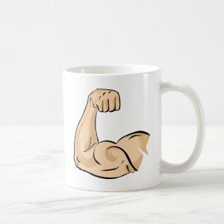 Músculo del brazo tazas