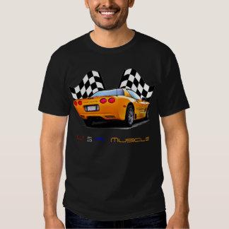 Músculo del Corvette Camisas