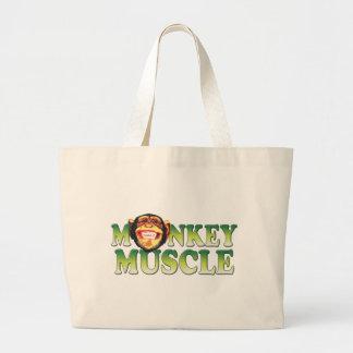 Músculo del mono bolsas