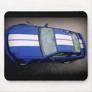 Músculo Mousepad coche-azul