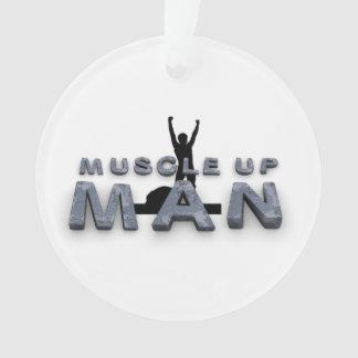 Músculo SUPERIOR encima del hombre