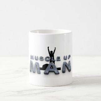 Músculo SUPERIOR encima del hombre Taza De Café