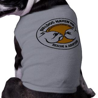 Músculo-T de BHNW para los mascotas Playera Sin Mangas Para Perro