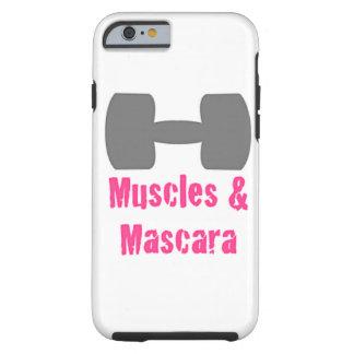¡Músculo y rimel - caja del teléfono! Funda De iPhone 6 Tough