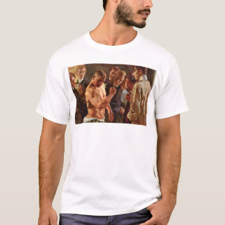 MUSCULOS BY OSMAR SCHINDLER GERMAN PAINTING T-Shirt