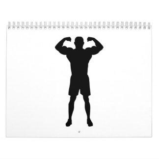 Músculos del Bodybuilder Calendario