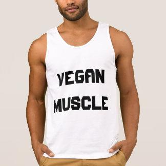 Músculos del vegano playera de tirantes