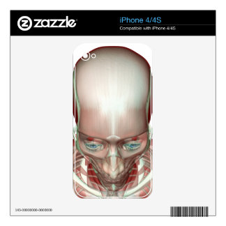 Musculoskeleton of the Head and Neck Skin For The iPhone 4