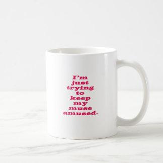 Muse Amused Coffee Mug