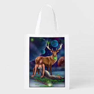 Muse and Elk Reusable Grocery Bag
