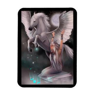 Muse and Pegasus Flexi Magnet