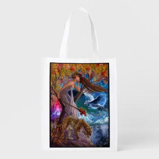 Muse Animal Fantasy Reusable Grocery Bag